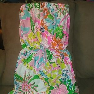 Lilly Pulitzer for Target strapless maxi